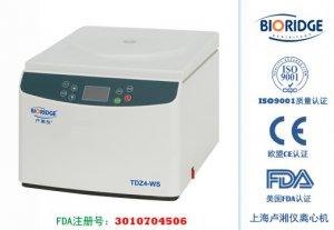 Настольная низкоскоростная центрифуга TD4 (TDZ4-WS)