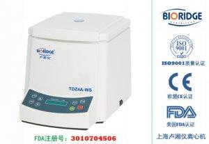 Настольная низкоскоростная центрифуга TD4A (TDZ4A-WS)