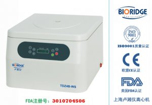 Настольная низкоскоростная центрифуга TD4B (TDZ4B-WS)