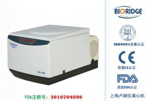 Настольная охлаждаемая центрифуга большой емкости TDL-8M