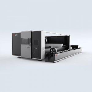 Профессиональный станок для лазерной резки труб двойного назначения с волоконным лазером TQL-F2000-3015WB-60G-I