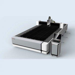 Высокоскоростной оптоволоконный станок для лазерной резки листов металла  TQL-F1500-3015B-N